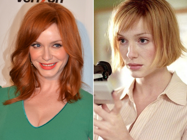 Christina Hendricks Natural Blonde Hair Color