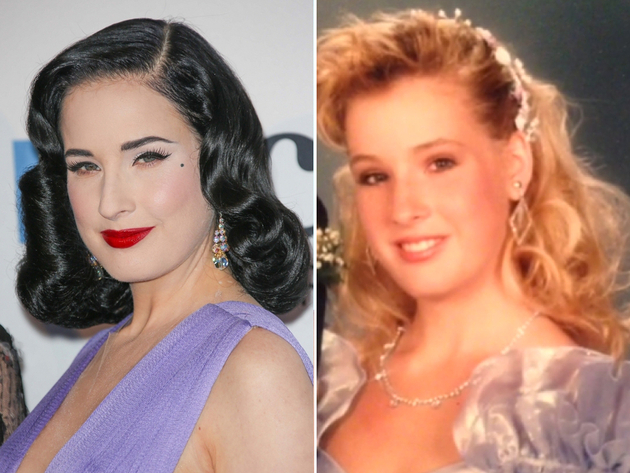 Dita Von Teese Natural Blonde Hair Color