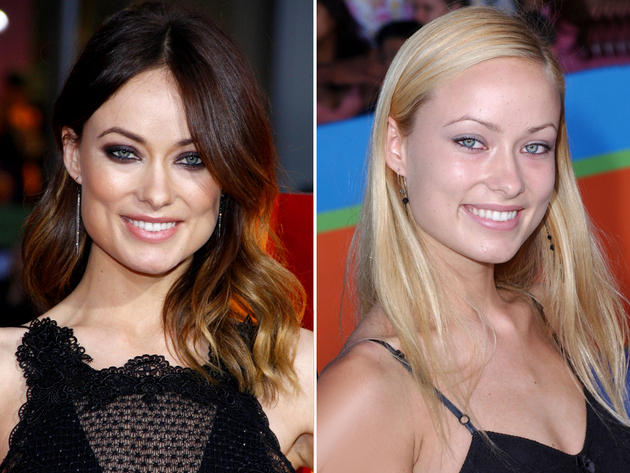 Olivia Wilde Blonde Hair Color