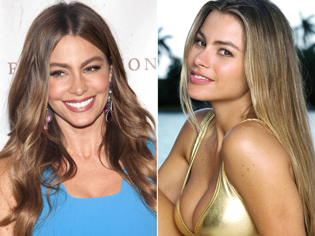 Sofia Vergara Natural Dark Blonde Hair Color