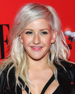 Ellie Goulding Gray Hair