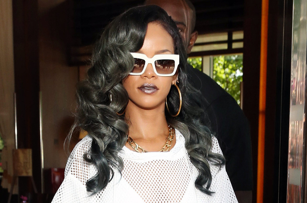 Rihanna Gray Hair Color