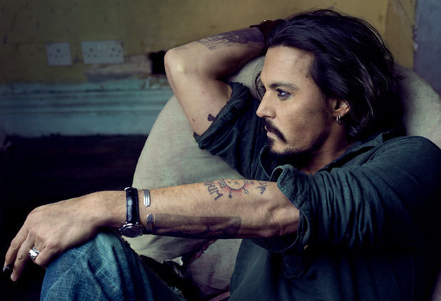Johnny Depp Cfda Fashion Icon Award Winner 2012