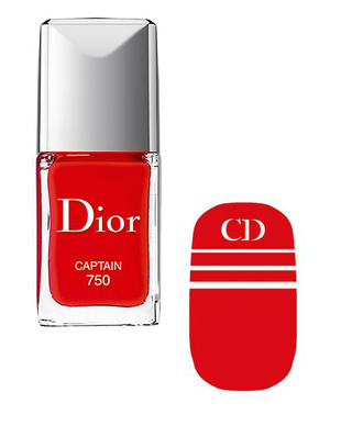 Dior Voyage Transatlantique Nail Polish And Decal In Captain