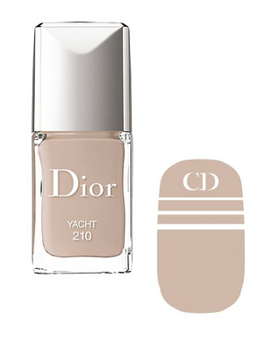Dior Voyage Transatlantique Nail Polish And Decal In Yacht