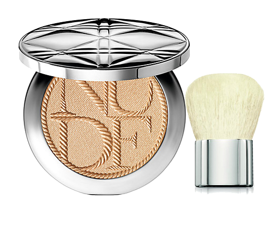 Dior Voyage Nude Tan Golden Shimmer Powder Transatlantique