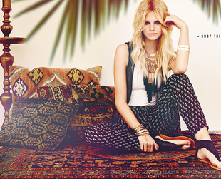 Looking for inspiration for the rapidly approaching festival season? The new Forever 21 Bohemian Dreams 2014 lookbook can be a great choice.
