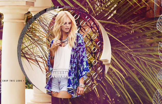Forever 21 Bohemian Dreams Look  (2)