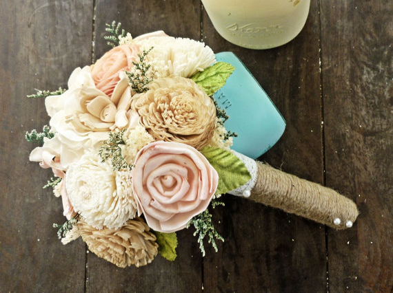 Eco Friendly Wedding Bouquet