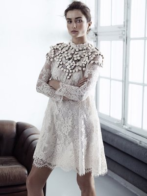 H And M Conscious Collection Lace Dress
