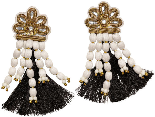 H And M Conscious Collection Tassel Earrings