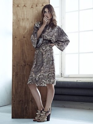 H And M Conscious Collection Bat Sleeve Dress