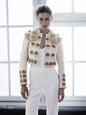 H And M Conscious Collection Embroidered Jacket