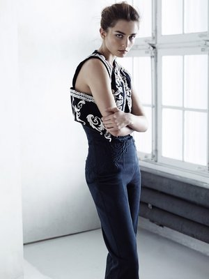 H And M Conscious Collection Embroidered Vest