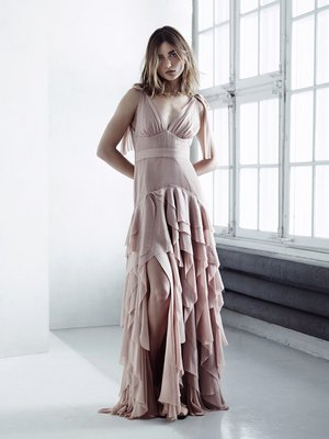 H And M Conscious Collection Flamenco Dress