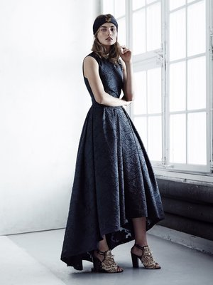 H And M Conscious Collection Hi Low Dress