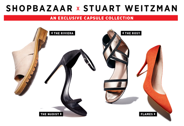 Harper's Bazaar x Stuart Weitzman 2014 Shoe Collection