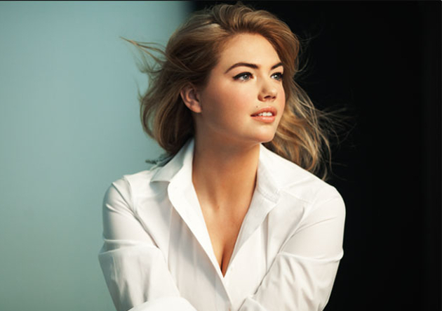 Kate Upton Bobbi Brown Cosmetics Campaign Shoot