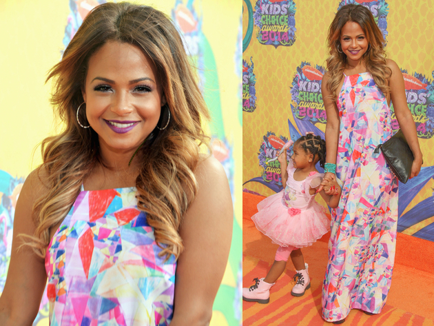 Christina Millian Kids Choice 2014 Dress