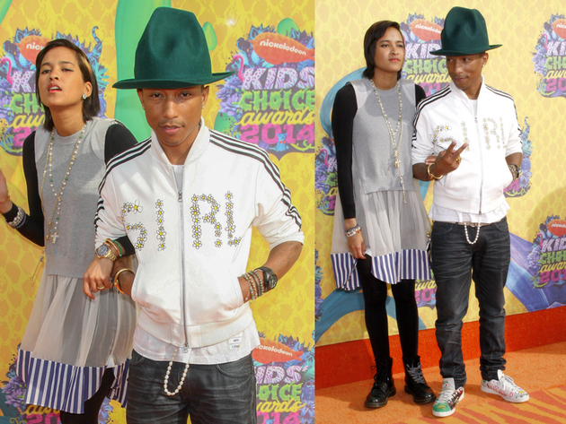 Pharrell Kids Choice 2014 Outfit