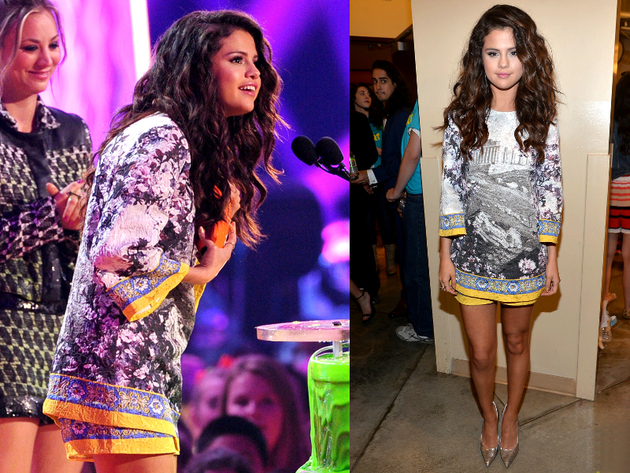 Selena Gomez Kids Choice 2014 Outfit