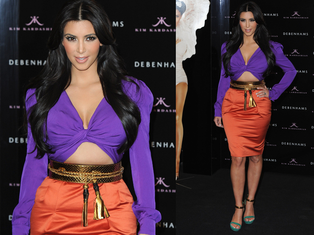 Kim Kardashion Gucci Runway Look