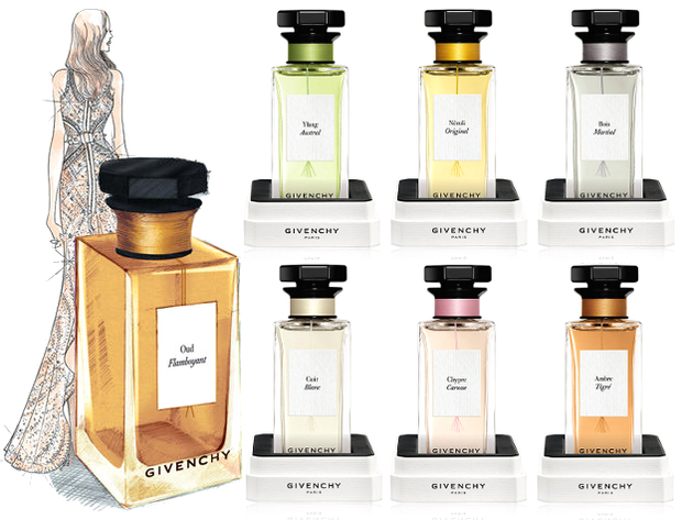 L'Atelier de Givenchy 2014 Fragrance Collection