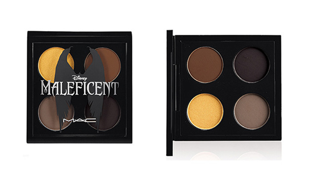 Mac Maleficent Eye Shadow X 4 Palette
