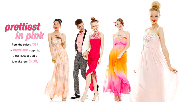 Macy's 2014 Prom Dresses Prettiest In Pink Style  (3)