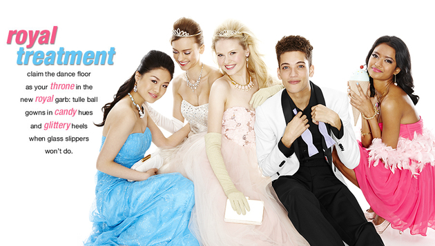 Macy's 2014 Prom Dresses Royal Treatment Style (1)