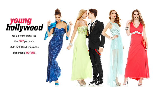 Macy's 2014 Prom Dresses Young Hollywood Style (3)