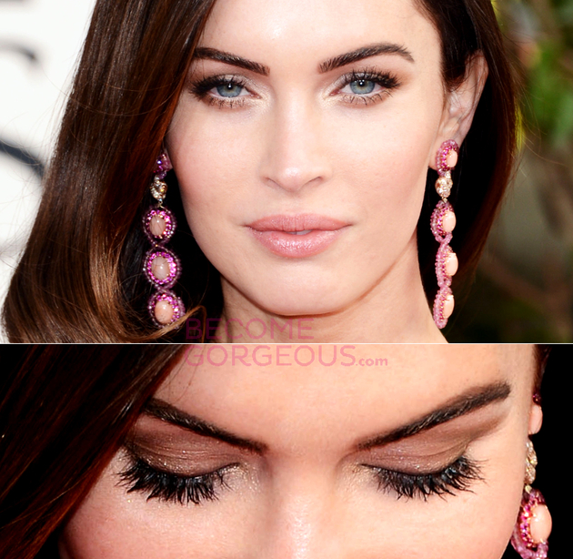 Small Eyes Makeup Megan Fox