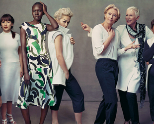 Emma Thompson, Alex Wek, Rita Ora, Annie Lennox and Baroness Lawrence star in the Marks & Spencer spring/summer 2014 ad campaign. Have a look!