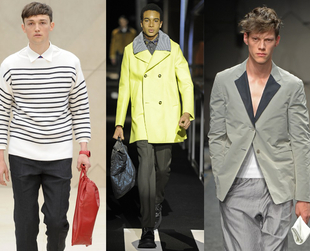 Discover the hottest trends of the season and find out which key pieces you need for a trendy wardrobe update. Get your man style ready for Spring/Summer 2014.