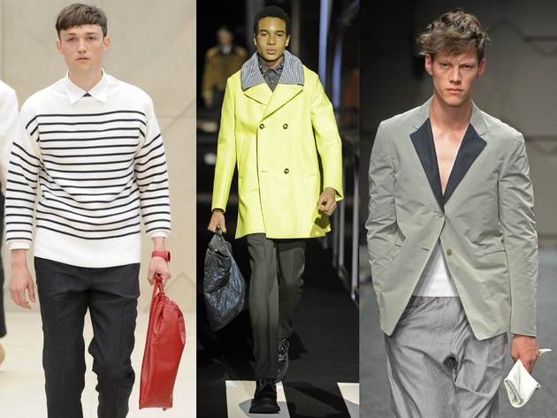 Mens Bags Spring 2014 Trends