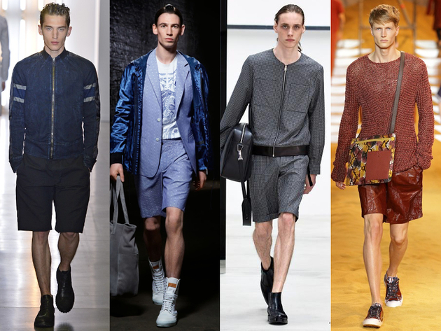 Mens Bermuda Shorts Spring 2014 Trends