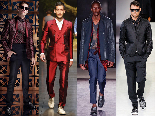 Mens Dandy Spring 2014 Trends
