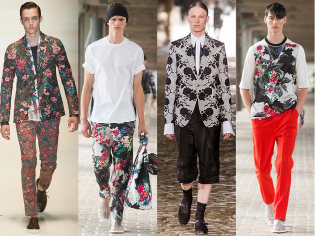 Mens Fashion Trends Spring 2014
