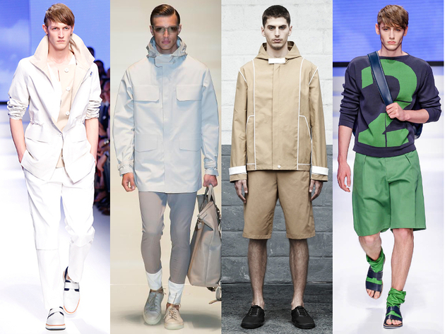 Mens Sporty Spring 2014 Trends
