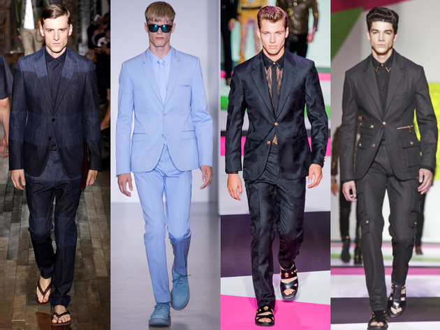 Mens Suits Spring 2014 Trends