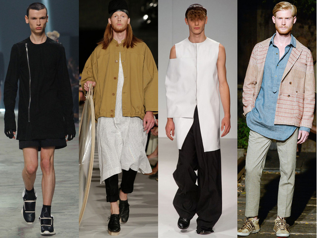 Mens Tunics Spring 2014 Trends