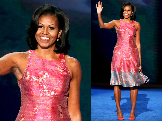 Michelle Obama Tracy Reese Dress
