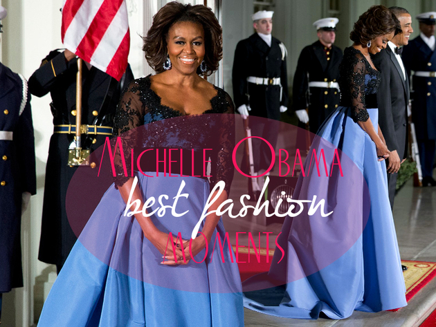 Michelle Obama Best Fashion Moments