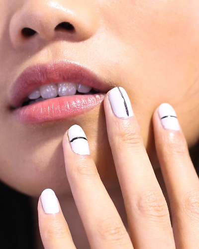 Pictures Nail Trends For Spring 2014 Stripes Nail Polish Trend Spring 2014