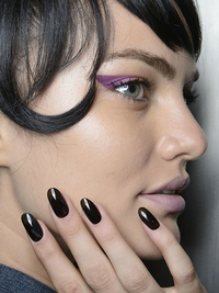 Dark Colors Nail Polish Trend Spring 2014
