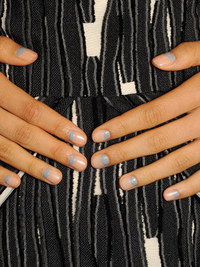 Half Moon Manicure Trend Spring 2014