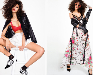 """Lace, leather and anarchy"" are the concepts that define the newest Nasty Gal spring 2014 lookbook. Check it out!"