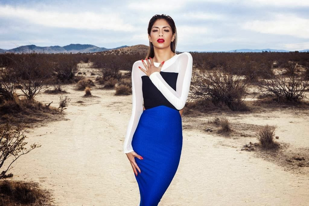 Nicole Scherzinger For Missguided Dress