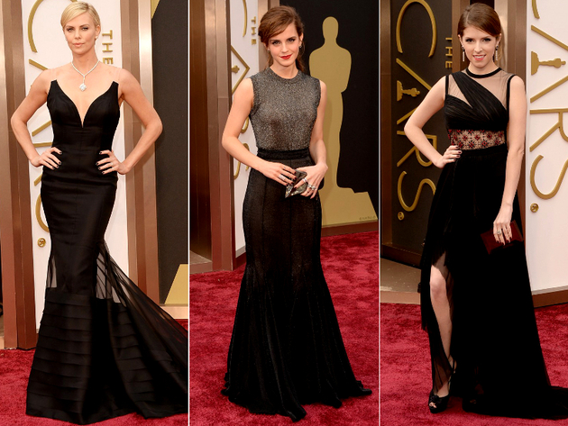 2017 Oscars Black Dresses