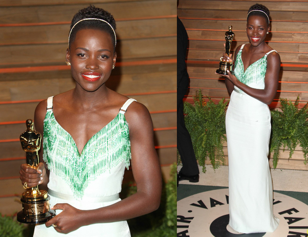 Lupita Nyongo Oscars After Party 2014
